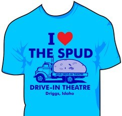 I Love the Spud T-shirt